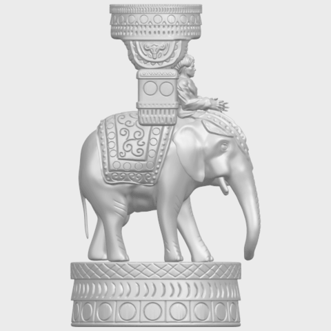 TDA0731_Elephant_08A09.png Download free STL file Elephant 08 • 3D printable template, GeorgesNikkei