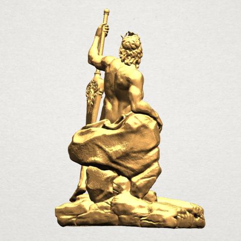 Naked Warrior A05.png Télécharger fichier STL gratuit Guerrier nu • Plan pour impression 3D, GeorgesNikkei