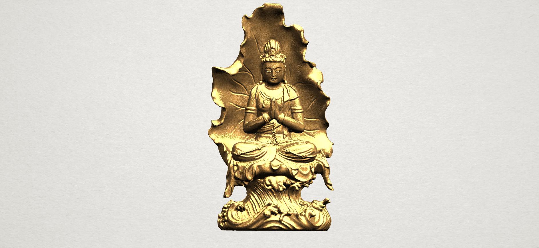 Avalokitesvara Buddha (with Lotus Leave) (ii) A01.png Download free STL file Avalokitesvara Buddha (with Lotus Leave) 02 • Model to 3D print, GeorgesNikkei