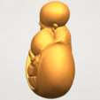 A03.png Download free STL file Little Monk 03 • 3D print template, GeorgesNikkei
