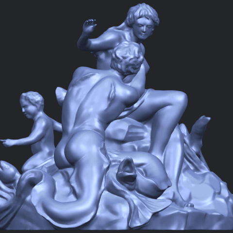 28_TDA0166_Naked_Couple_viB08.png Download free STL file  Naked Couple 06 • 3D printing object, GeorgesNikkei