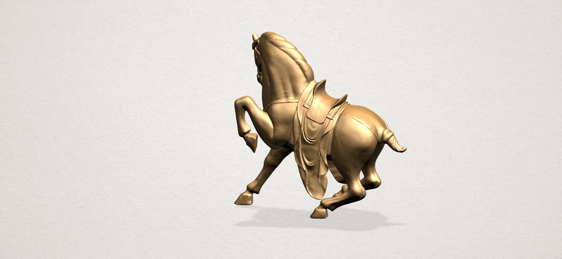 Horse III - A01.png Télécharger fichier STL gratuit Cheval 03 • Design imprimable en 3D, GeorgesNikkei