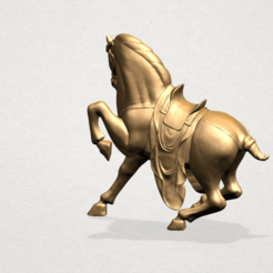 Horse III - A01.png Download free STL file Horse 03 • Model to 3D print, GeorgesNikkei