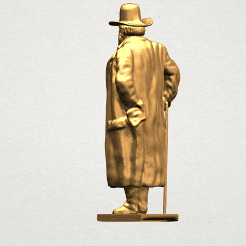 Sculpture of a man A04.png Download free STL file Sculpture of a man 02 • Object to 3D print, GeorgesNikkei