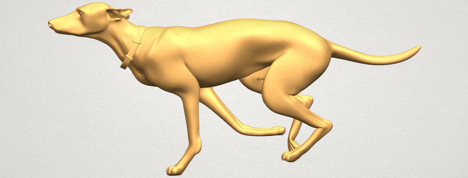 TDA0529 Skinny Dog 01 A06.png Download free STL file Skinny Dog 01 • Object to 3D print, GeorgesNikkei