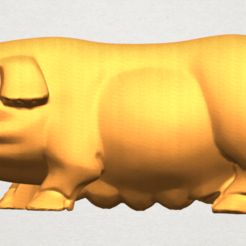 Free stl files Pig 01 Female, GeorgesNikkei