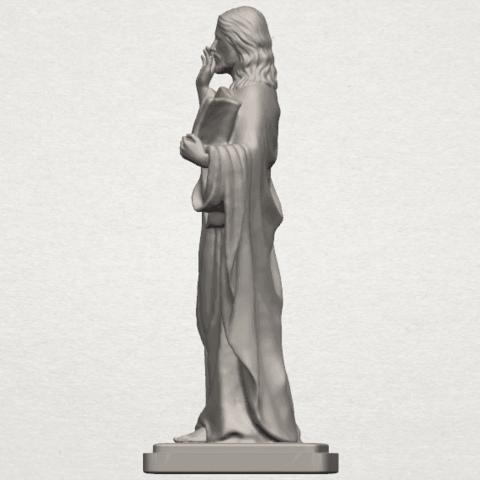 TDA0237 Jesus (v) A03.png Télécharger fichier STL gratuit Jésus 05 • Design imprimable en 3D, GeorgesNikkei