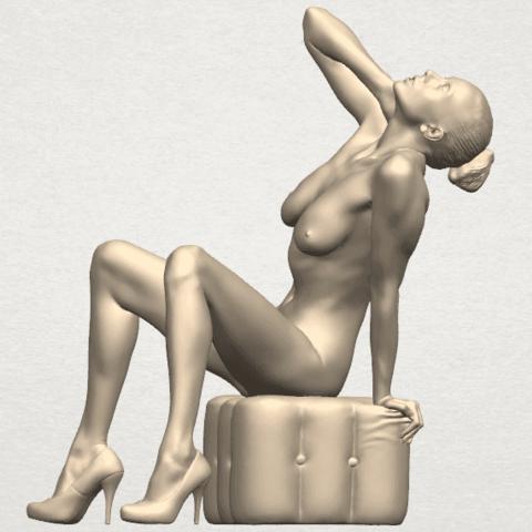 TDA0289 Naked Girl B06 05.png Download free STL file  Naked Girl B06 • 3D print design, GeorgesNikkei