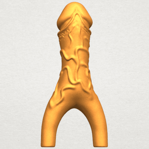 TDA0317 Dick (ii) A05.png Download free STL file Dick 02 • Design to 3D print, GeorgesNikkei