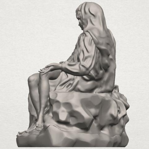 TDA0238 La Pieta A04.png Télécharger fichier STL gratuit La Pieta • Modèle pour impression 3D, GeorgesNikkei