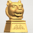 TDA0510 Chinese Horoscope of Tiger 02 A07.png Download free STL file Chinese Horoscope of Tiger 02 • 3D print object, GeorgesNikkei