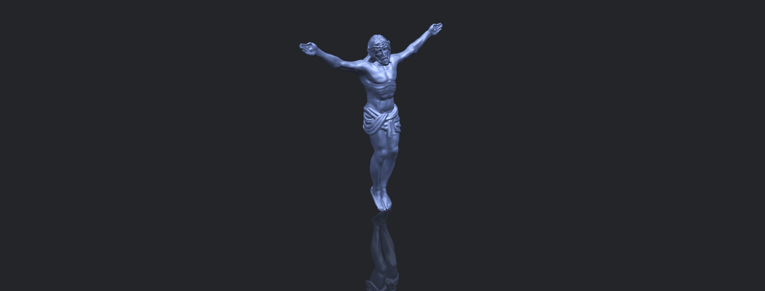21_TDA0230_Jesus_iB00-1.png Download free STL file Jesus 01 - top • Object to 3D print, GeorgesNikkei