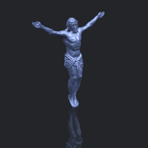 21_TDA0230_Jesus_iB00-1.png Download free STL file Jesus 01 - top • Object to 3D print, GeorgesNikkei