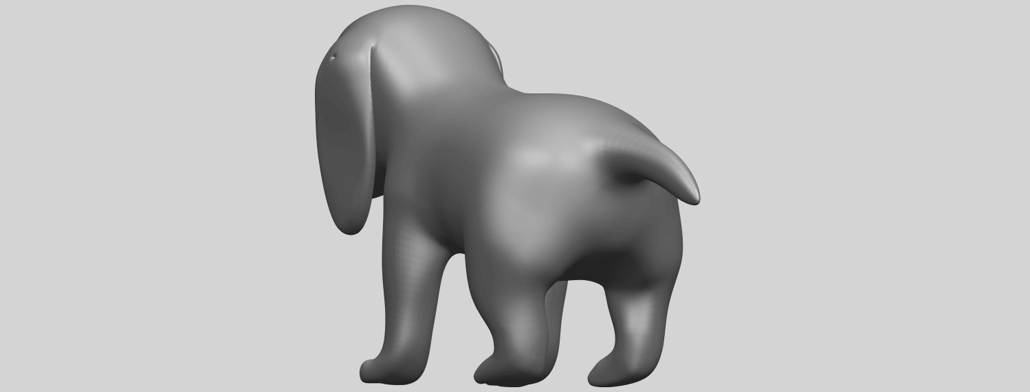 15_TDA0533_Puppy_01A08.png Download free STL file Puppy 01 • 3D printer template, GeorgesNikkei