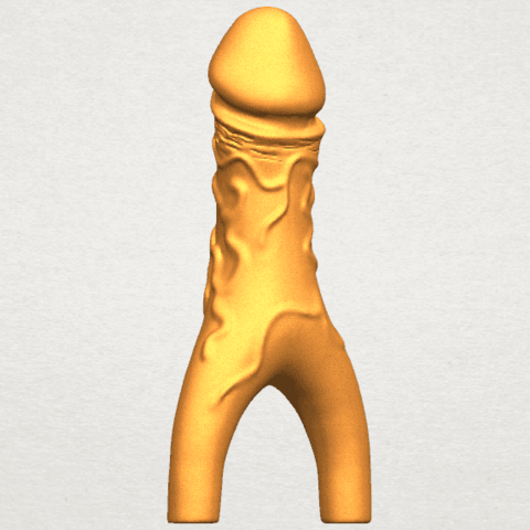 TDA0317 Dick (ii) A08.png Download free STL file Dick 02 • Design to 3D print, GeorgesNikkei