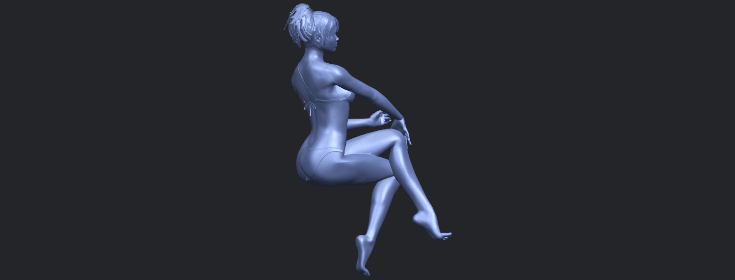 20_TDA0664_Naked_Girl_H02B01.png Download free STL file Naked Girl H02 • 3D print object, GeorgesNikkei