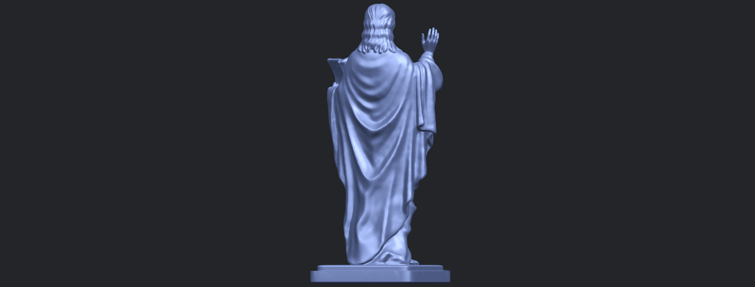 19_TDA0237_Jesus_vB07.png Download free STL file Jesus 05 • 3D print object, GeorgesNikkei