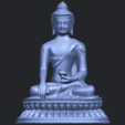 15_TDA0173_Thai_Buddha_(iii)_88mmB01.png Download free STL file Thai Buddha 03 • 3D printing object, GeorgesNikkei