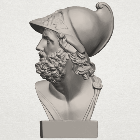 TDA0244 Sculpture of a head of man A03.png Download free STL file Sculpture of a head of man • 3D printable design, GeorgesNikkei