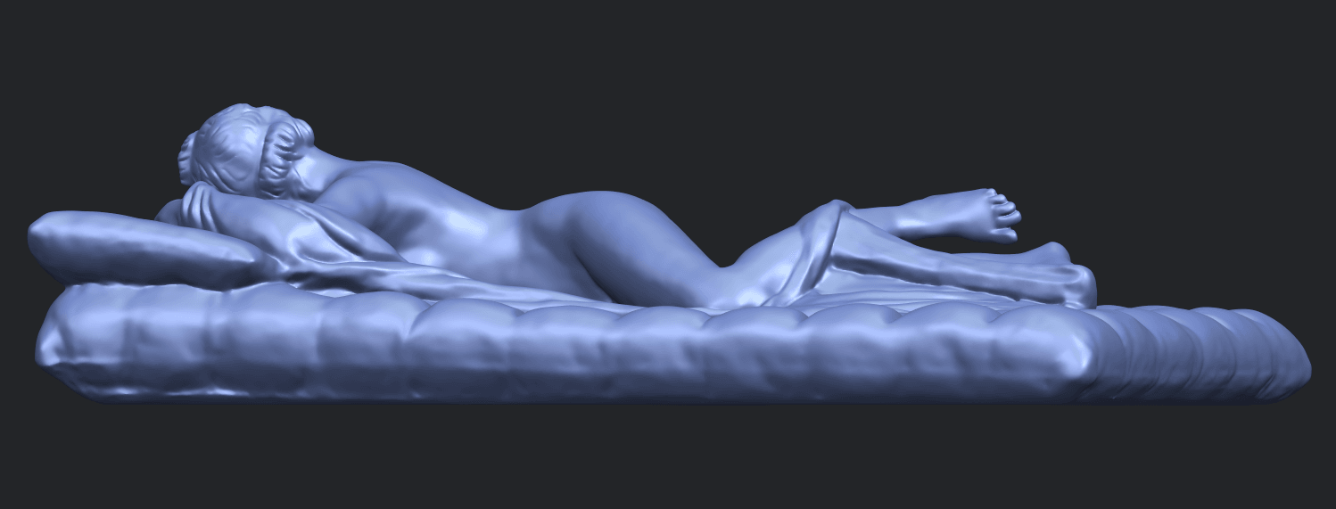 01_Naked_Body_Lying_on_Bed_ii_31mmB07.png Download free STL file Naked Girl - Lying on Bed 02 • Object to 3D print, GeorgesNikkei