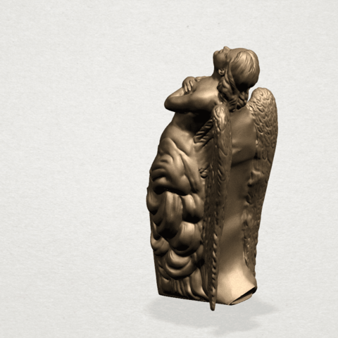 Angel (iii) A03.png Download free STL file Angel 03 • 3D printable object, GeorgesNikkei