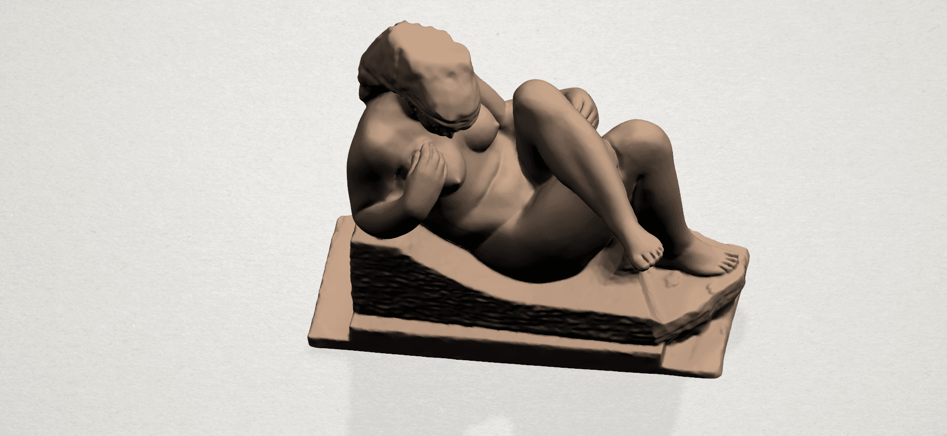 Naked Girl (xiii) A06.png Download free STL file Naked Girl 13 • 3D print design, GeorgesNikkei