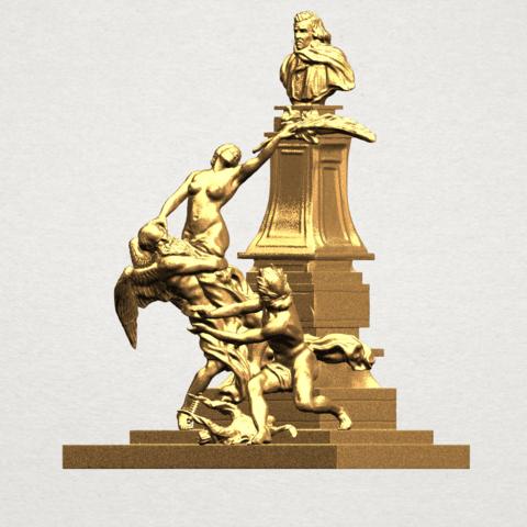 Statue 02 - A02.png Télécharger fichier STL gratuit Statue 02 • Plan pour impression 3D, GeorgesNikkei
