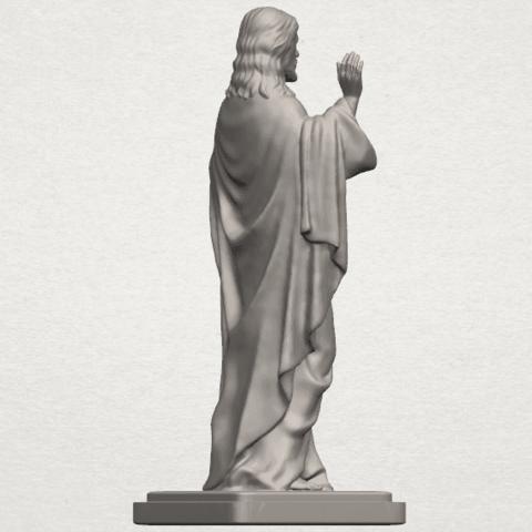 TDA0237 Jesus (v) A05.png Télécharger fichier STL gratuit Jésus 05 • Design imprimable en 3D, GeorgesNikkei