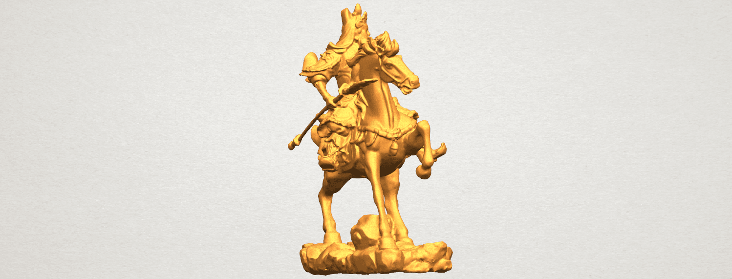 TDA0331 Guan Gong (iv) A05.png Download free STL file Guan Gong 04 • Template to 3D print, GeorgesNikkei