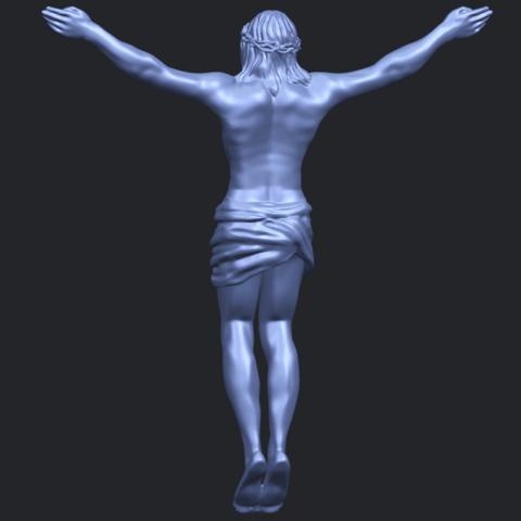 21_TDA0230_Jesus_iB06.png Download free STL file Jesus 01 - top • Object to 3D print, GeorgesNikkei