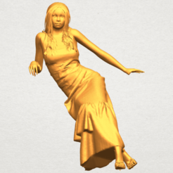 Download free 3D printing templates Naked Girl I02, GeorgesNikkei