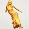 A01.png Télécharger fichier STL gratuit Fille Nue I02 • Objet à imprimer en 3D, GeorgesNikkei