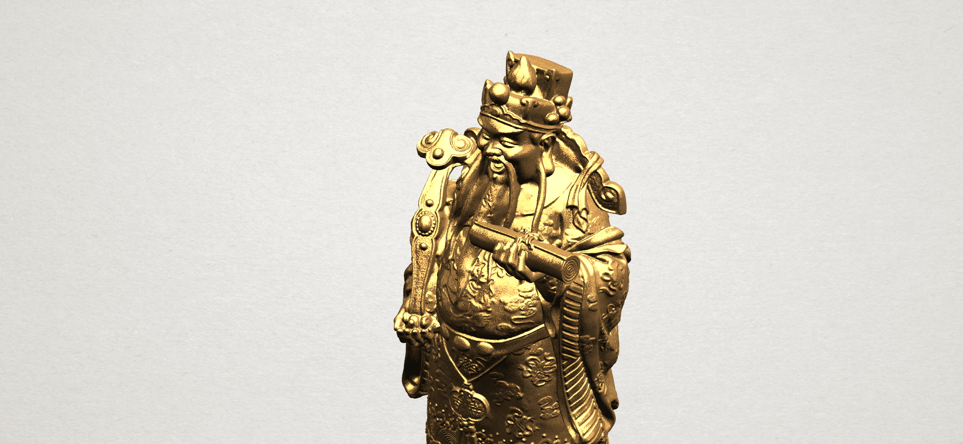 God of Treasure - B12.png Download free STL file God of Treasure • 3D printing model, GeorgesNikkei