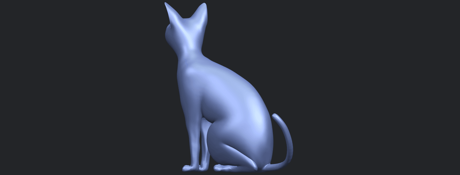 02_TDA0576_Cat_01B05.png Download free STL file Cat 01 • Design to 3D print, GeorgesNikkei