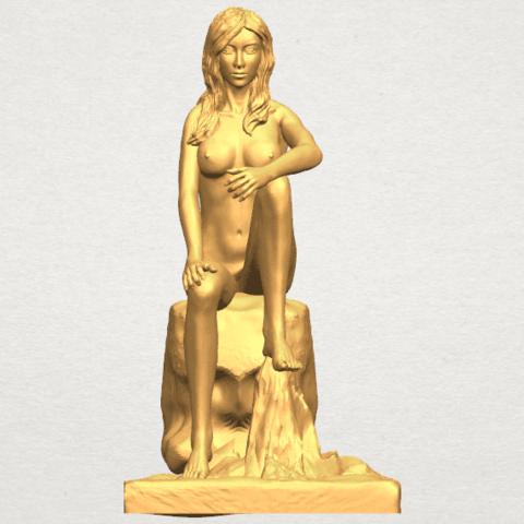 TDA0462 Naked Girl 16 A01.png Download free STL file Naked Girl 16 • 3D printable design, GeorgesNikkei
