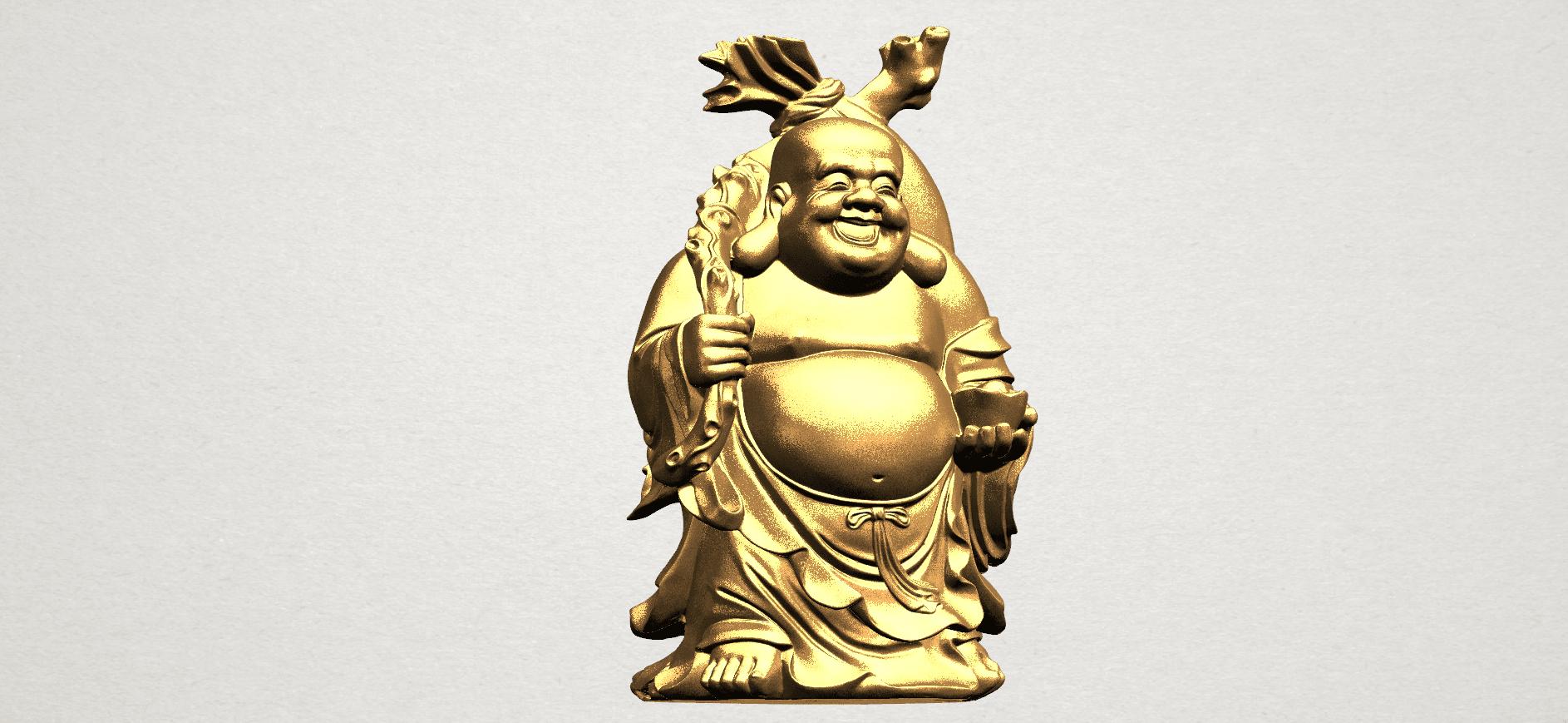 Metteyya Buddha 05 - 88mm - A01.png Télécharger fichier STL gratuit Bouddha Metteyya 05 • Objet imprimable en 3D, GeorgesNikkei