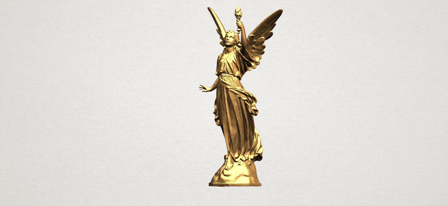 Statue 01 - A02.png Télécharger fichier STL gratuit Statue 01 • Design à imprimer en 3D, GeorgesNikkei