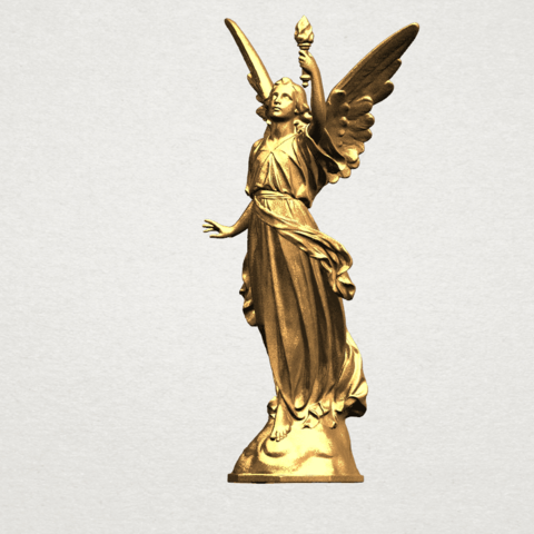 Statue 01 - A02.png Download free STL file Statue 01 • Object to 3D print, GeorgesNikkei