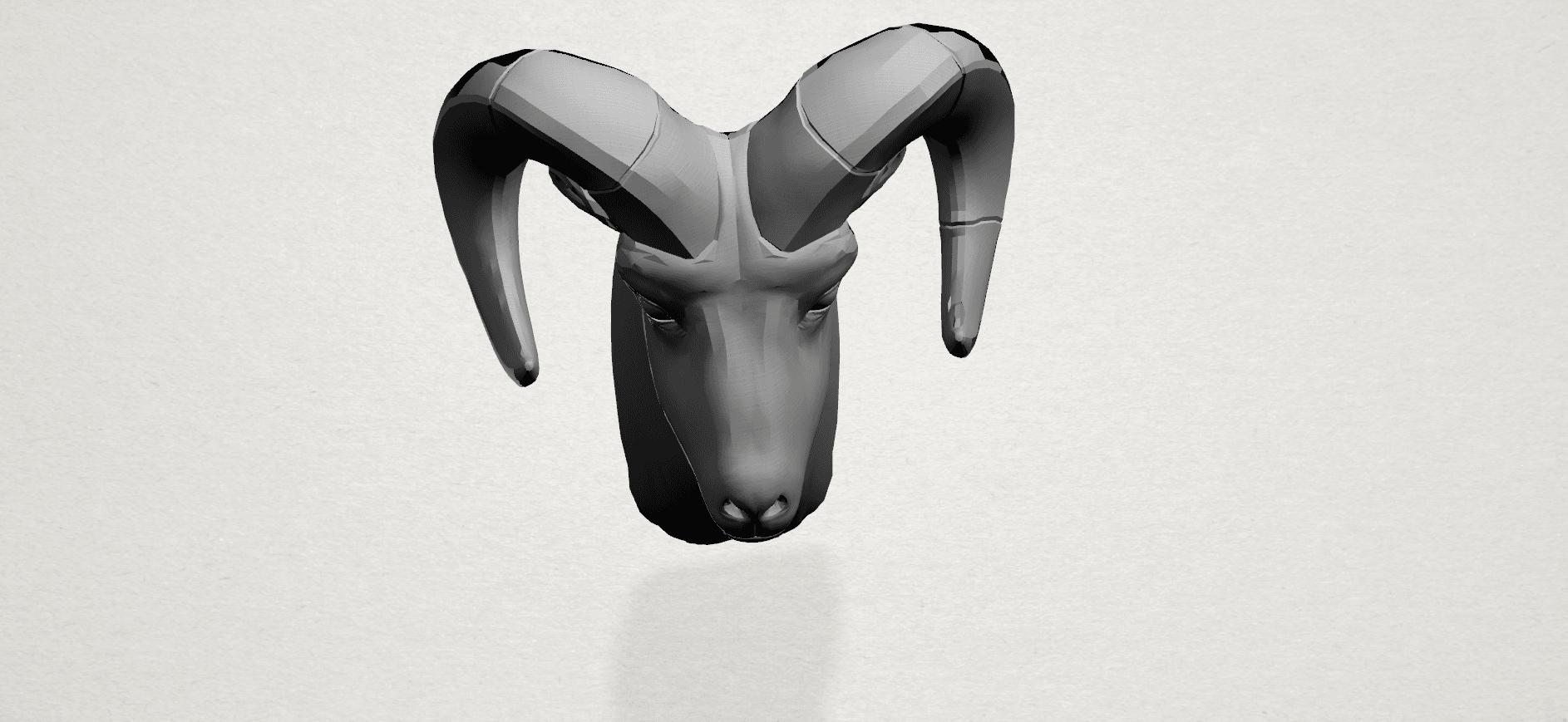 Goat - A04.png Télécharger fichier STL gratuit Chèvre 01 • Design pour impression 3D, GeorgesNikkei