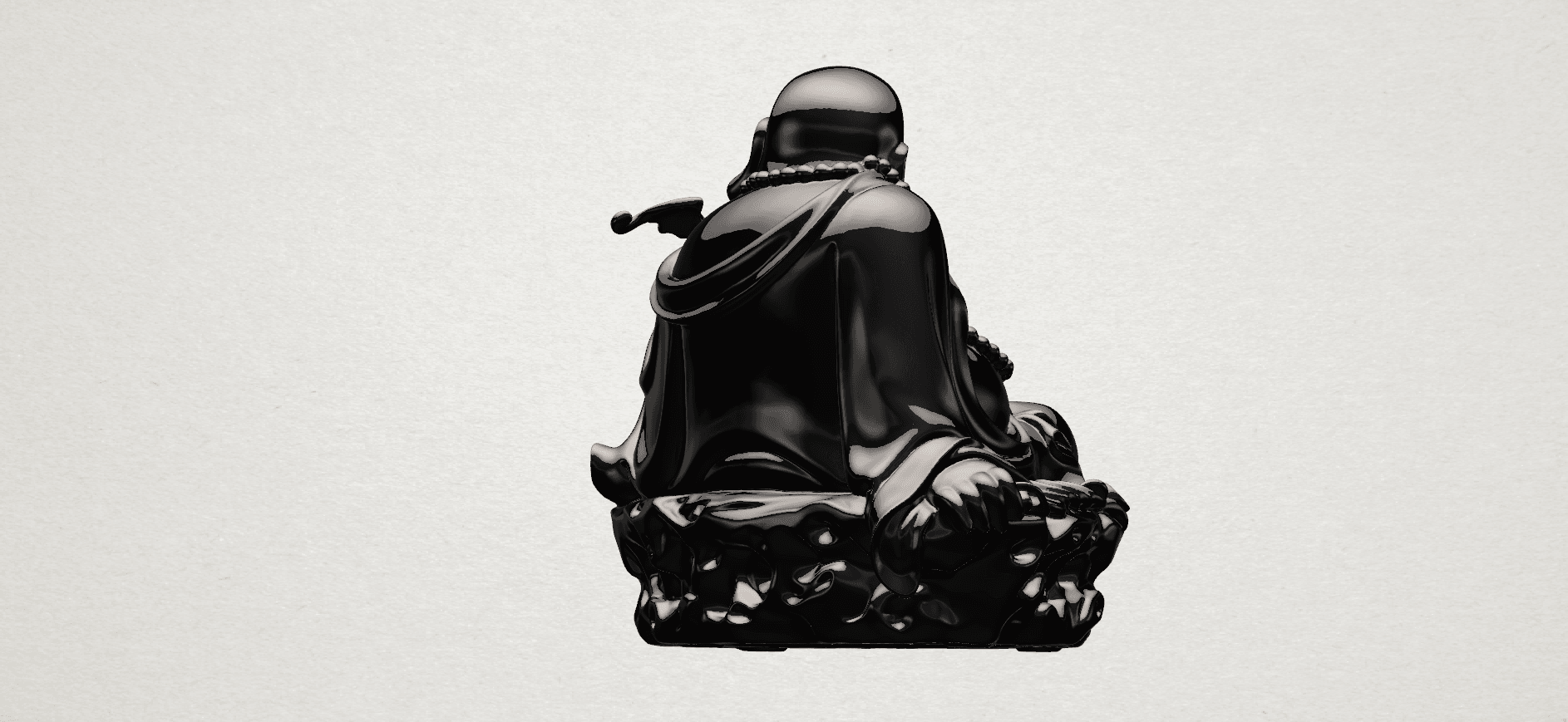 Metteyya Buddha 06 - B04.png Download free STL file Metteyya Buddha 06 • 3D print model, GeorgesNikkei