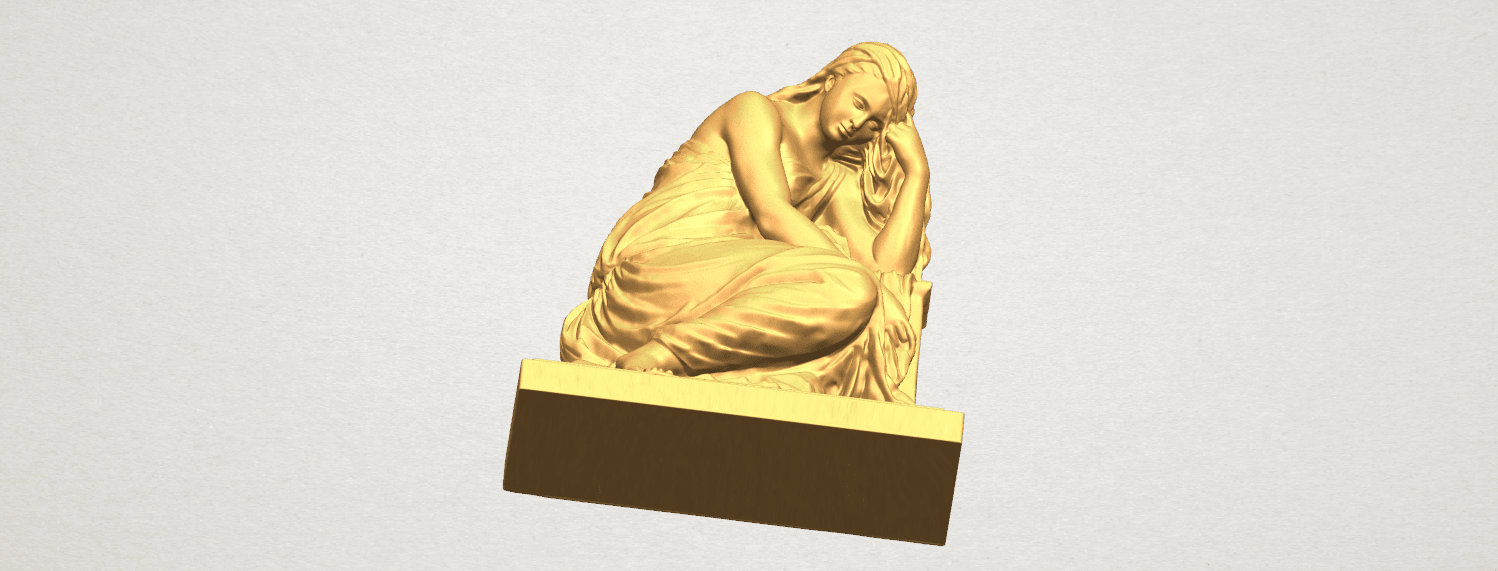 TDA0548 Sculpture of a girl 02 A07.png Download free STL file Sculpture of a girl 02 • 3D printable template, GeorgesNikkei