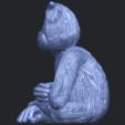 09_TDA0606_ChimpanzeeB04.png Télécharger fichier STL gratuit Chimpanzé • Design imprimable en 3D, GeorgesNikkei
