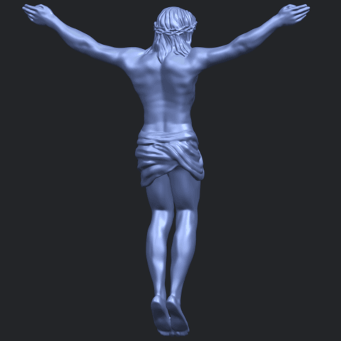 21_TDA0230_Jesus_iB07.png Download free STL file Jesus 01 - top • Object to 3D print, GeorgesNikkei