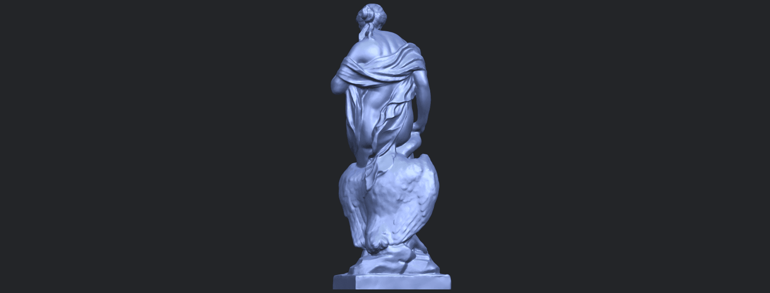 25_TDA0173_Naked_Girl_with_Goose_88mmB06.png Download free STL file Naked Girl with Goose • 3D print template, GeorgesNikkei
