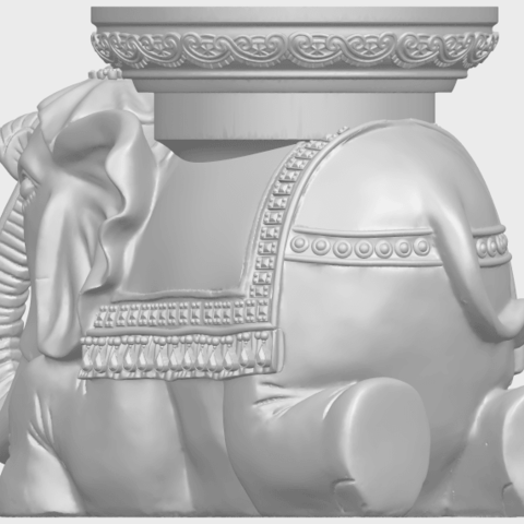 11_TDA0501_Elephant_TableA04.png Download free STL file Elephant Table • 3D printing object, GeorgesNikkei