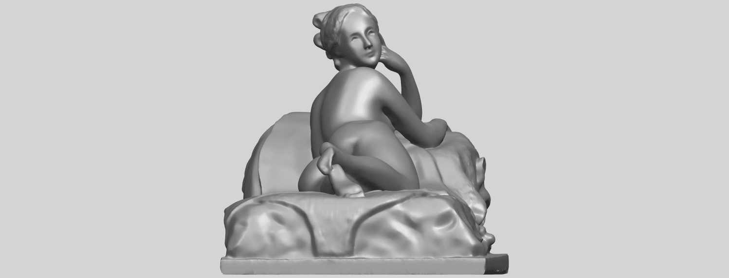 11_Naked_Girl_Lying_on_Bed_i_60mmA09.png Download free STL file Naked Girl - Lying on Bed 01 • 3D printable object, GeorgesNikkei