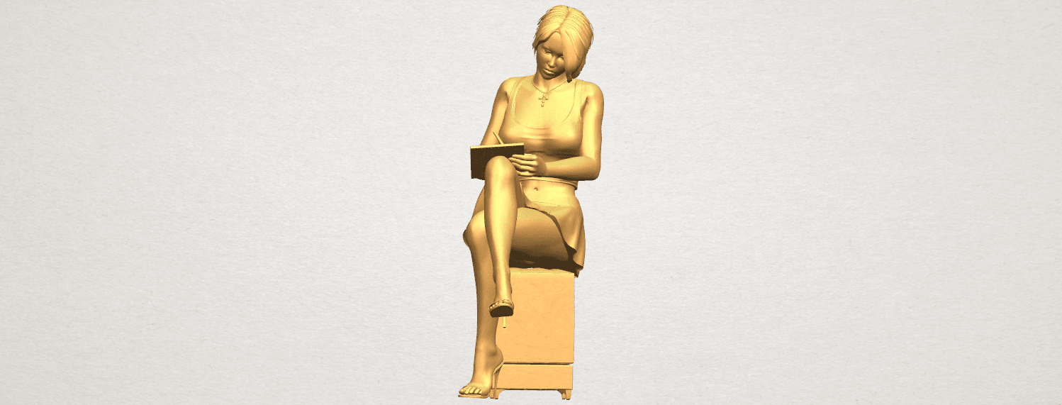TDA0471 Beautiful Girl 05 A01 ex800.png Download free STL file Beautiful Girl 05 • 3D printing template, GeorgesNikkei