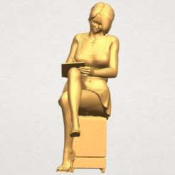 Free 3D printer files Beautiful Girl 05, GeorgesNikkei
