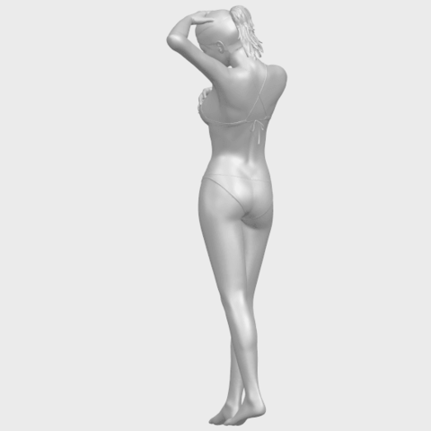 16_TDA0633_Naked_Girl_D03-A06.png Download free STL file Naked Girl D03 • 3D printing template, GeorgesNikkei