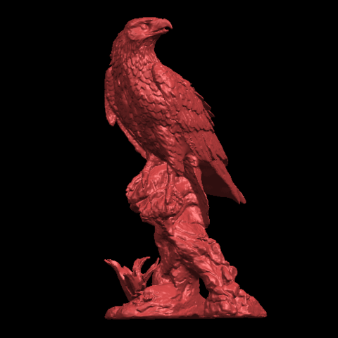 02.png Download free STL file Eagle 01 • 3D printing design, GeorgesNikkei
